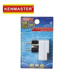 Kenmaster XX-508C WA-II-9S Steker On Off untuk 2 atau 3 Kaki