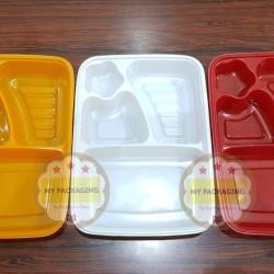 Tray Bento / Bento Box / Mika Bento + Tutup