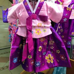 Dress Baju Korea Hanbok Korea Anak Perempuan Cewek