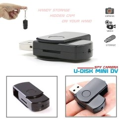 Spy Camera U-Disk Mini DV - Kamera Pengintai Flash Drive
