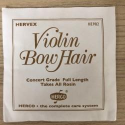 Violin Biola Musik Bow Hair Fiber Herco HE902 Original