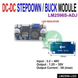 LM2596S DC-DC STEP-DOWN POWER MODULE LM2596 BUCK REGULATOR INDICATOR