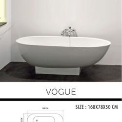 Bathtub Free Standing VOGUE + Kran Standing