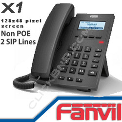 Fanvil X1 Entry Level IP Phone [non PoE]