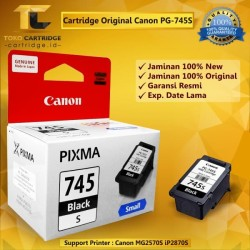 Catridge tinta canon PG-745s PG745s 745 small printer ip2870s mg2570s