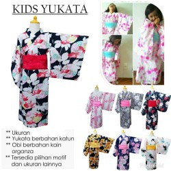 yukata japan baju tradisional jepang untuk anak