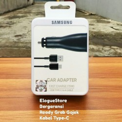 Original Samsung Car Charger Mobil Fast Charging Type C A8 Note S8 S9