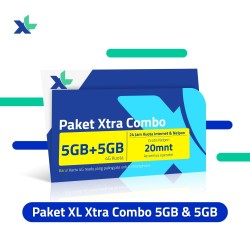 Starter Pack & Paket XL Xtra Combo 5GB + 5GB (Youtube)