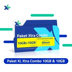 Starter Pack & Paket XL Xtra Combo 10GB + 10GB (Youtube)
