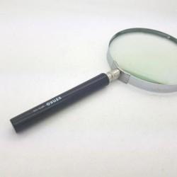 Kaca Pembesar Lup Kaca Magnifier Glass 100mm Kenko MFG-100