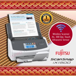 Fujitsu Scanner ScanSnap ix1500 – ADF, Duplex