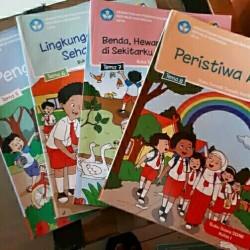 Buku Siswa Tematik Kelas 1 SD Tema 5678 Semester 2 Revisi Terbaru