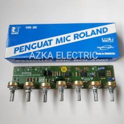 Kit Penguat Mic Roland Mixer Rolland