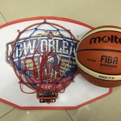 Papan Ring Basket Besar Ring Basket Portable Olahraga