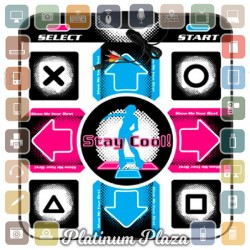 Karpet Matras DDR Dance Dance Revolution Anti Slip USB `WLVA8U- 051600