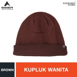 Eiger WS Two Layers Beanie - Brown