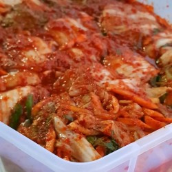 kimchi mix makanan korea sehat homemade 500 gr