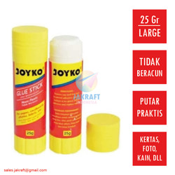 Glue Stick Lem Kertas Putar KENKO GS03 25 Gram Joyko isi 12 Besar