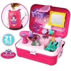 mainan anak fashion make up tas back pack / mainan anak perempuan