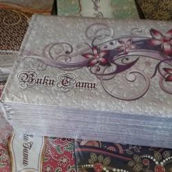 Buku Tamu Batik (kode 6)