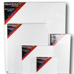 Kanvas lukis prapatan + spanram (30x40cm)
