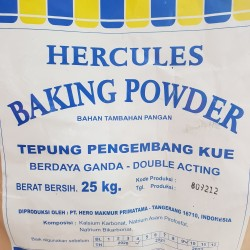 Hercules Baking Powder Double Acting Repacked 500 gr