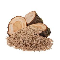 litter/serbuk kayu bentuk pelet .wood pelet lokal 1 kg