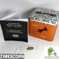 TINBOX FOSSIL BOX FOSSIL ORIGINAL