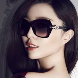 kacamata hitam fashion wanita trendi black sunglasses sunnies jgl037 - Ungu