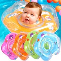 NECK RING BAYI | Ban Leher Bayi | Pelampung Bayi | Ban Pelampung Bayi - Hijau muda
