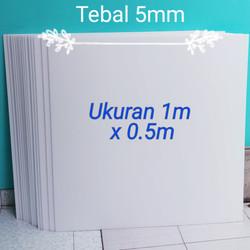Polyfoam 5mm x 50 cm x 100cm
