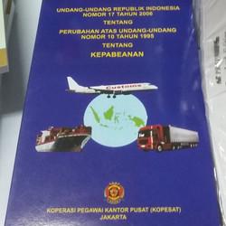 undang undang kepabeanan