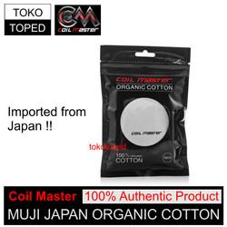 [AN] Authentic Coil Master Muji Japan Organic Cotton | kapas organik