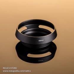 Metal Lens Hood 43 Vented - 43mm Black