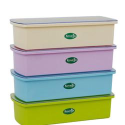 Rovega Cutlery Box Storage Tempat Peralatan Makan Sendok Garpu Sumpit