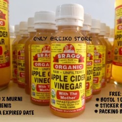 BRAGG Apple Cider Vinegar (Cuka Apel) Eceran 100ml 100% MURNI ORIGINAL