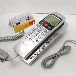 Telepon Kabel Sahitel S37 Pesawat Telepon Rumah Sahitel S-37 (Silver)