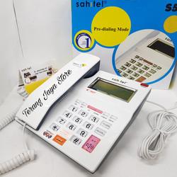Telepon Kabel Sahitel S52 Pesawat Telepon Rumah Sahitel S-52 (Putih)