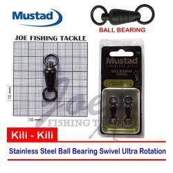 Mustad Size 7 Ball Bearing Swivel 250 Kg MA100SS - Kili Kili