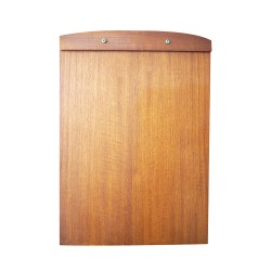 Dolo |menu board kayu papan custom logo buku restaurant cafe kertas A4