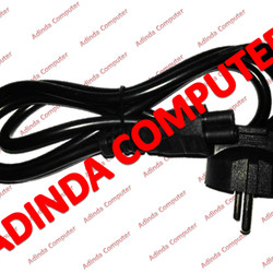 Kabel Power Adaptor Charger Laptop Grade A (Bulat)