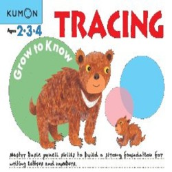 Buku Anak - Kumon - Grow to Know: Tracing