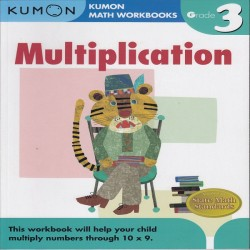 Buku Anak - Kumon - Grade 3 Multiplication