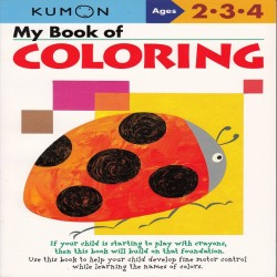 Buku Anak - Kumon - My Book of Coloring