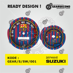 Ready Design Panel Speedometer Custom Skywave - Gearsecond Speedometer