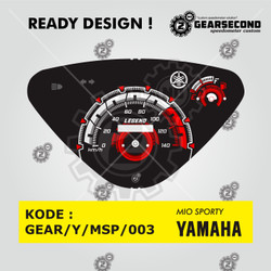 Ready Design Panel Speedometer Custom Mio Sporty - Gearsecond Speedo