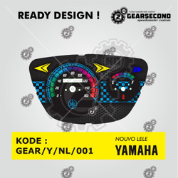 Ready Design Panel Speedometer Custom Nouvo Lele - Gearsecond Speedo