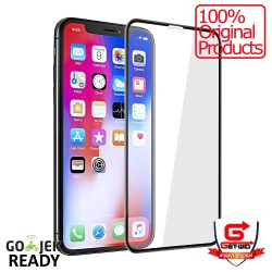 Tempered Glass Full Cover iPhone X 5D Curved Screen Protector