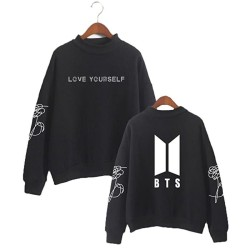 Sweater BTS Love Yourself hitam
