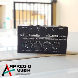 a-pro Ha400 headphone amplifier
